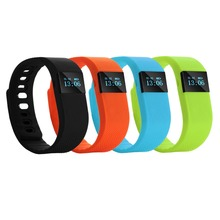 TW64 Bluetooth Smart Wrist Band Bracelet Watch Health Pedometer for Android IOS 0.49″ OLED Display Lithium Battery Bluetooth 4.0
