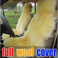 Free ship Wool cushion car seat cashmere cushion sheep fur accessories full sheep fur car seat cover cushion