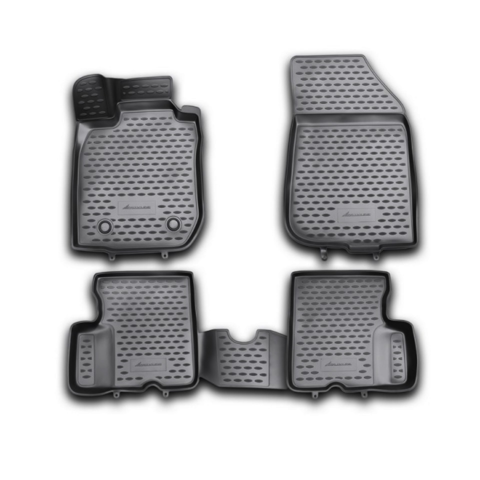3D Floor mats for Renault Duster 2WD 2011 2012 2013 2014 Element NLC3D4129210KH
