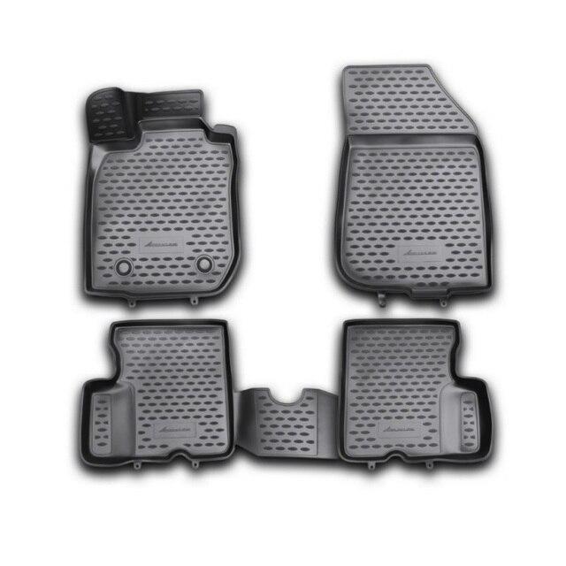 3D коврики для Renault Duster 2WD 2011 2012 2013 2014 элемент NLC3D4129210KH