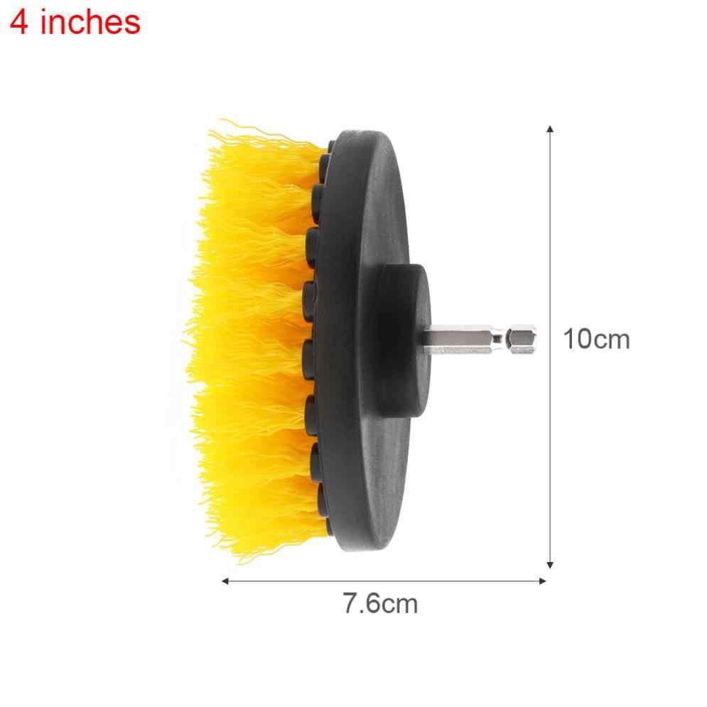 4 дюйма мощность скруббер щетка для чистки ванной ковра плитка раковина пластик механический инструмент щетка