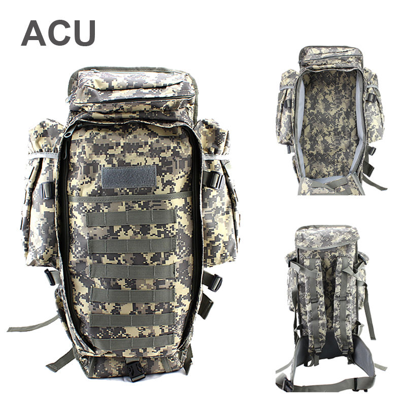 Military USMC Army Tactical Molle Backpacks Hiking Camping Climbing  Bag  Rifle Backpack Sport Travel Hunting Backpack Gun Bags