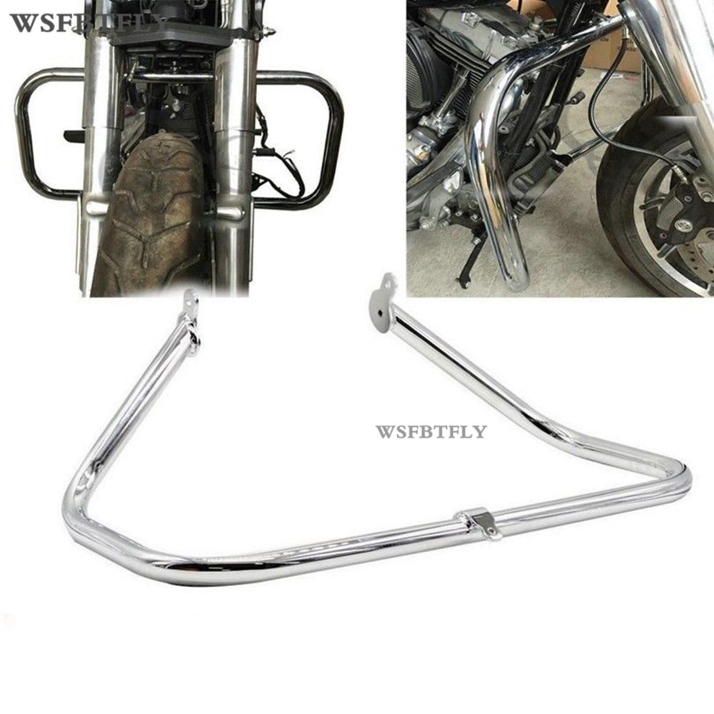 Motorcycle Engine Guard Highway Crash Bar For Harley Touring 1997-2008 98 99 01 02 03 04 05 06 07 engine guard highway crash bar for honda shadow ace vt 400 750 1997 2003 02 01