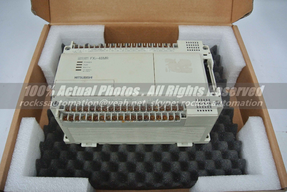 FX2-48MR Used In Good Condition With Free DHL / EMS dhl ems ls lg inverter sv022ig5a 2 220v 2 2kw good in condition for industry use a1