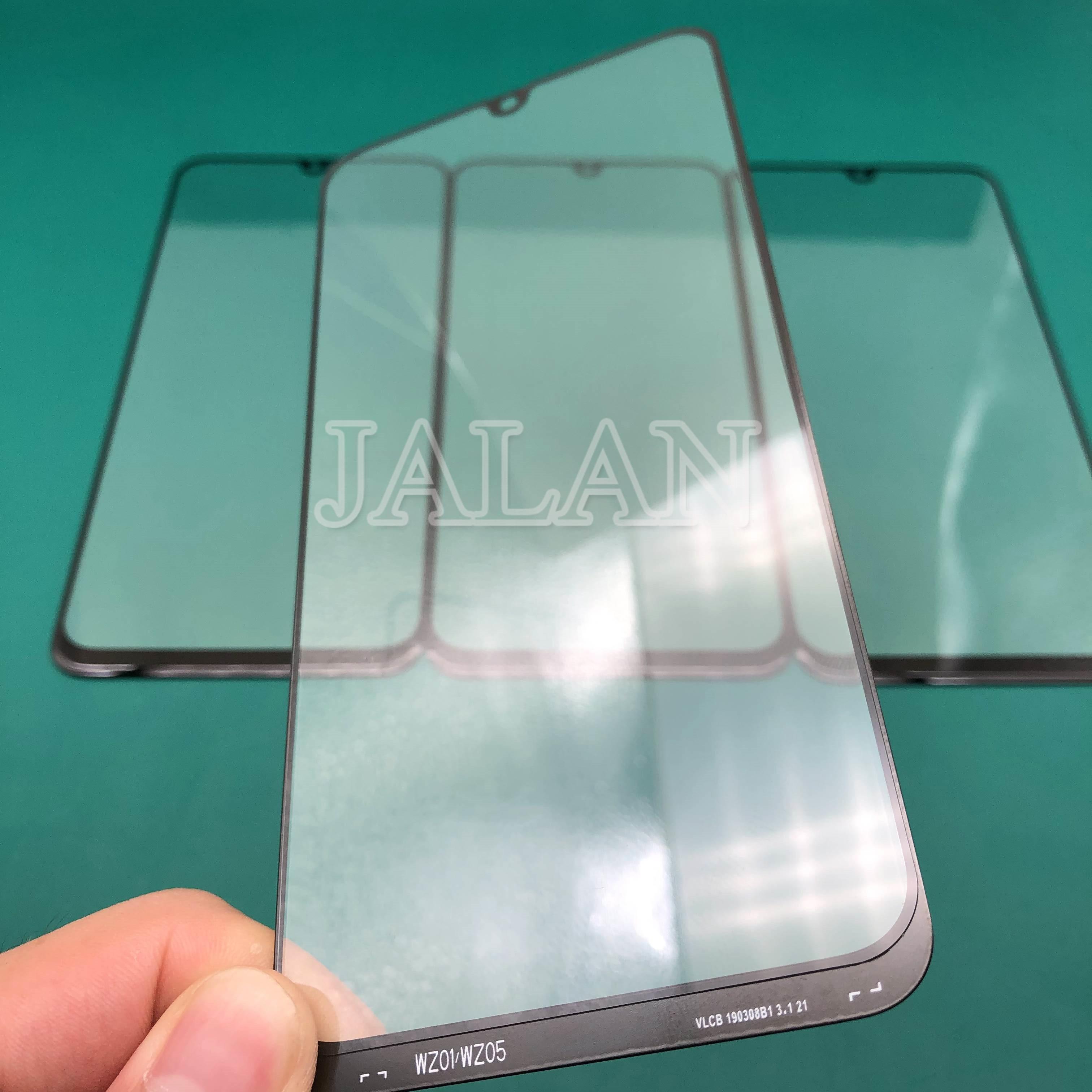 Jalan 5 PC Depan Kaca + OCA untuk Samsung GalaxyA30 A50/A40/A60/A70/A80 2019 layar LCD Touch Rusak Kaca Perbaikan Pengganti