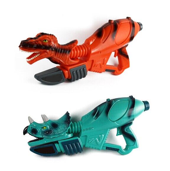 Summer Beach Holiday Fashion Dinosaur Pumping Water Gun Toy Kids Tyrannosaurus Trigger Fight Pool Squirt Toy Pistol Water Battle