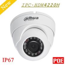 Big Sales 2mp Dahua IP Camera Full HD Network IR Eyeball Camera IPC-HDW4220M IP67 Support POE English Version DH-IPC-HDW4220M