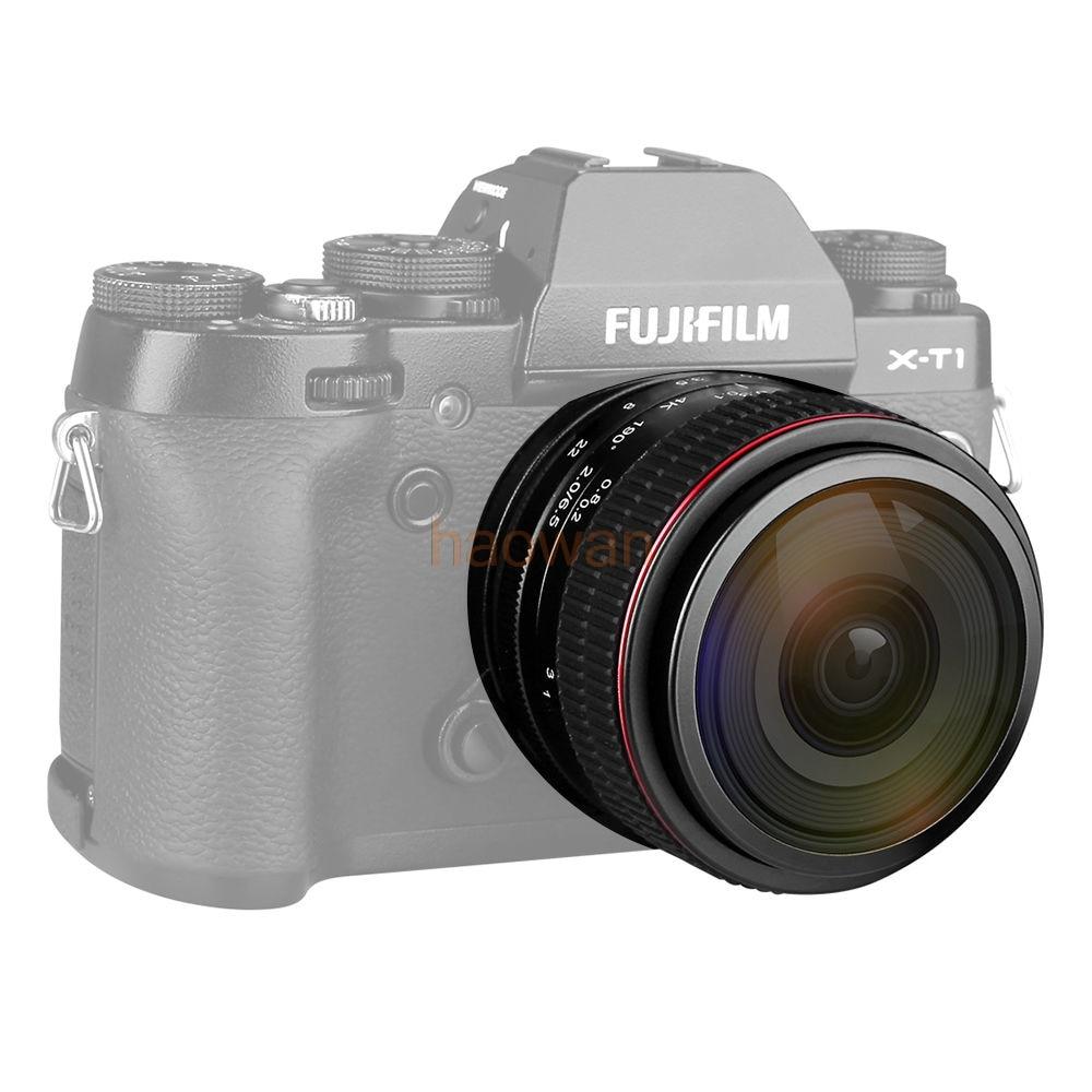 6.5MM F2.0 f/2.0 Fisheye Manual Focus Lens for fujifilm fuji fx xa1 xa2 xt1 xt2 xt10 xe1 xe2 xm1 xm2 xpro1 xat mirrorless camera aps c fish eye lens 8mm f2 8 for fujifilm fx mount camera xt1 xt10 xe1 xe2 xm1