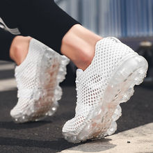 2019 spring new breathable running shoes mesh men cross-country sports mens