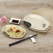 WHISM Imitation Porcelain Printed Dinner Plate Dish & Buy melamine plates bowls and get free shipping on AliExpress.com