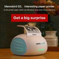 MEMOBIRD новый маленький принтер Wifi Портативный Bluetooth печать штрих код беспроводной карманный термопринтер электронный компьютер офис