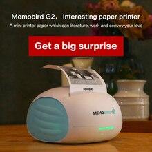 MEMOBIRD Новый Маленький Wifi Принтер Портативный Bluetooth Печать Штрих-Кодов Беспроводной Карман Термопринтер Электронный Компьютер Офис