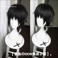 High Quality Ryunosuke Akutagawa 32cm Short Black Ombre Anime Bungo Stray Dogs Akutagawa Ryuunosuke Cosplay Wig