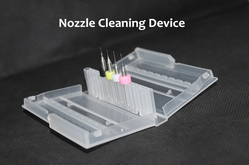 4 & 6 Sizes Nozzle Cleaning 0.5mm/0.4mm/0.3mm/0.2mm Drill Bits With Case For 3D Printer Nozzle Cleaning Mendel Reprap