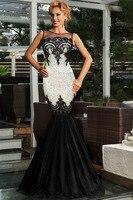 Màu xanh lá cây/bạc/vàng/đen/tím sequin appliqued dài dress sheer top nữ formal mermaid bên trang phục chính thức gown vestidos longo 60633