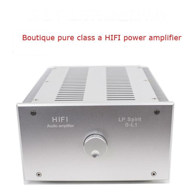 O L1 бутик чистый класс HIFI усилитель мощности домашний аудио высокомощный электронный трубчатый чистый усилитель мощности