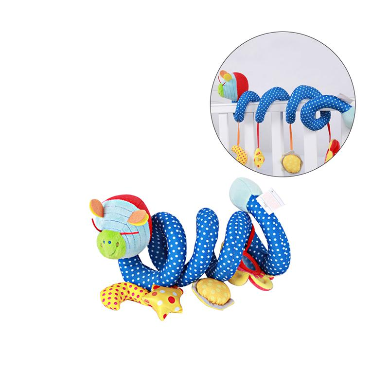 Firefly Baby Infant Crib Toy Wrap Around Crib Spiral Stroller Playing Dolls Cute Baby Early Educational Toys