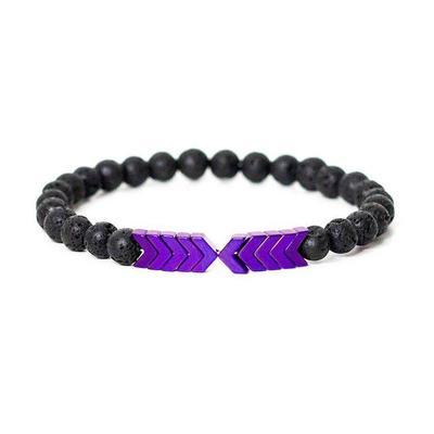 Sacred Arrow Lava Stone Diffuser Bracelet Jewelry