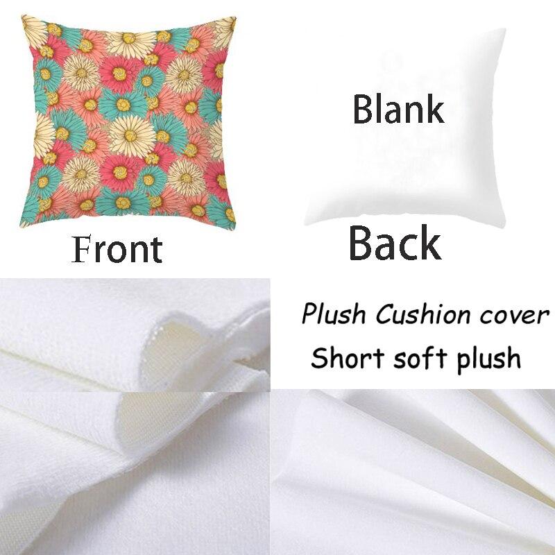 Pillow Case 45 45 Cm Polyester Sofa Car Cushion Cover Home Deacoative Throw Pillows Ananas Cushions Cover in Cushion Cover from Home Garden