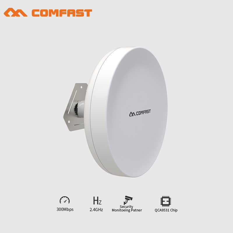 4pcs High Power 300Mbps Outdoor CPE 2-3km WIFI Repeater WIFI Signal Booster Amplifier wireless bridge for Security monitoring 2 4ghz 8w wlan wifi wireless broadband amplifier signal booster for rc radio extend the distance