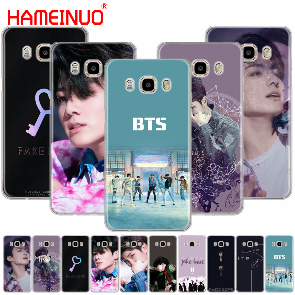 HAMEINUO BTS Fake Love Bangtan Boys cover phone case for Samsung Galaxy J1 J2 J3 J5 J7 MINI ACE 2016 2015 prime