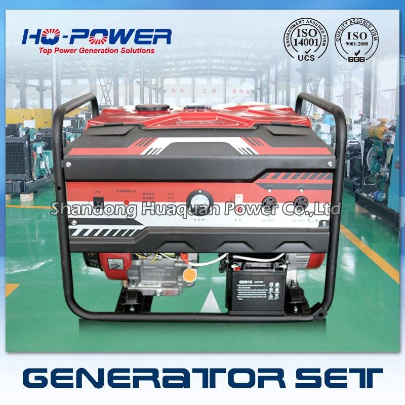 Бензиновый генератор 8000 8