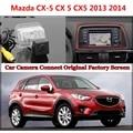 Cámara de Visión Trasera/Copia de seguridad de Reversa Cámara Ajusta Para Mazda CX-5 CX 5 CX5 2013 2014/RCA y visualización de La Pantalla Original Compatible
