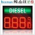led gas station oil price sign/Outdoor gas station led price/Gas panel led gas price sign remote