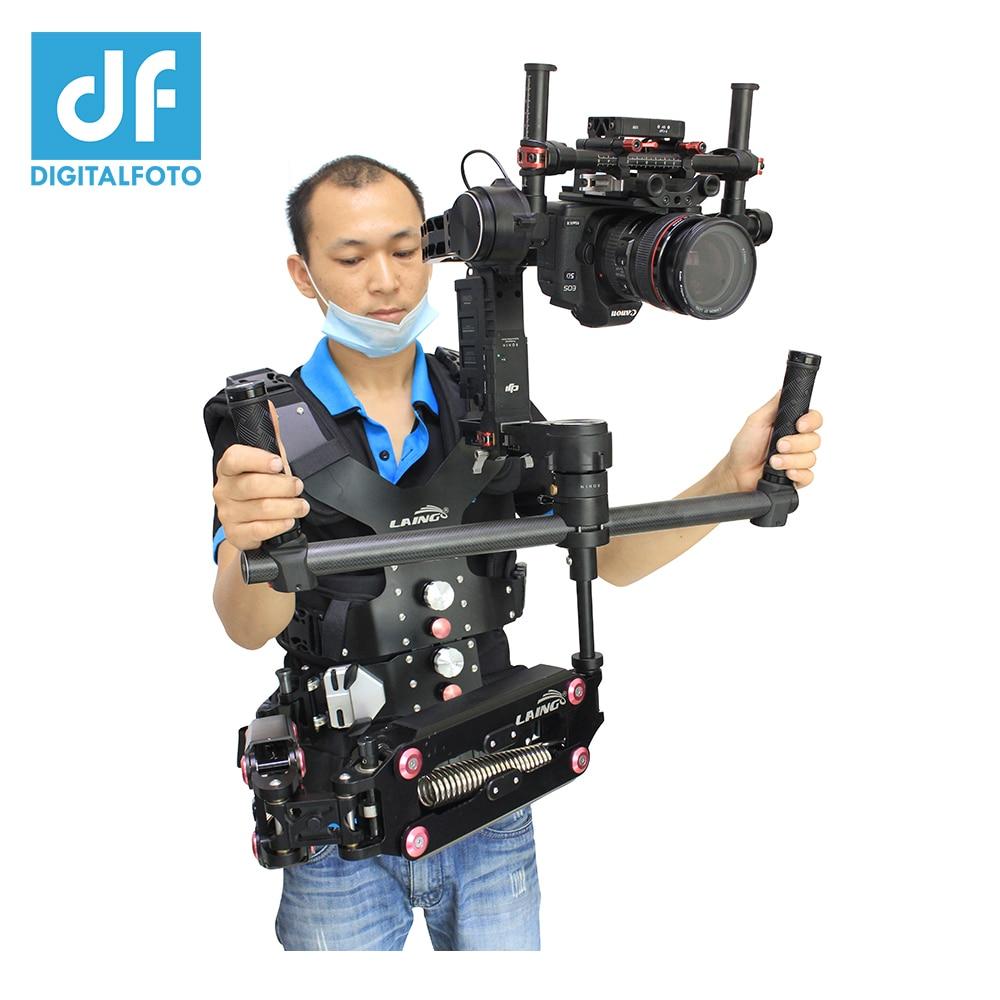 LAING Like SKIER DSLR steadicam Camera Support Vest+ Video Stabilizer+Ronin adaptor for DJI Ronin Stabilizer