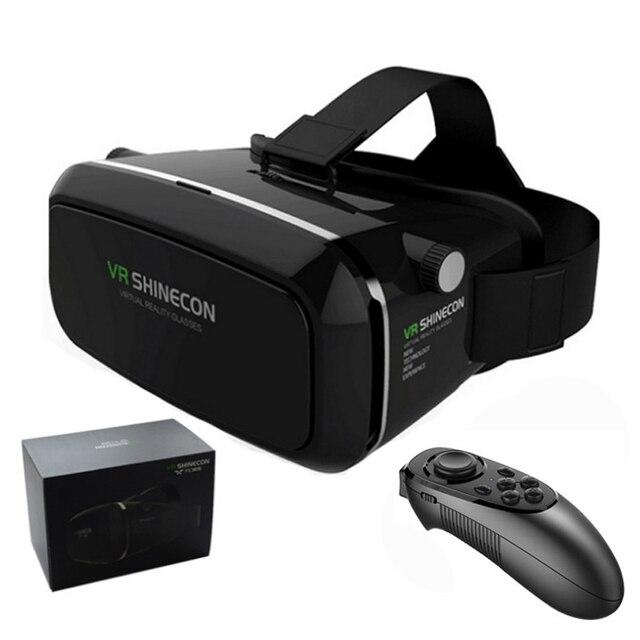 7e658ebbd74e3 100% D origine VR SHINECON Réalité Virtuelle 3D Lunettes Casque VR Film pour  Samsung
