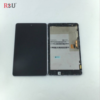 R U 7inch LCD Display Touch Digitizer Screen Assembly With Frame For ASUS Google Nexus 7