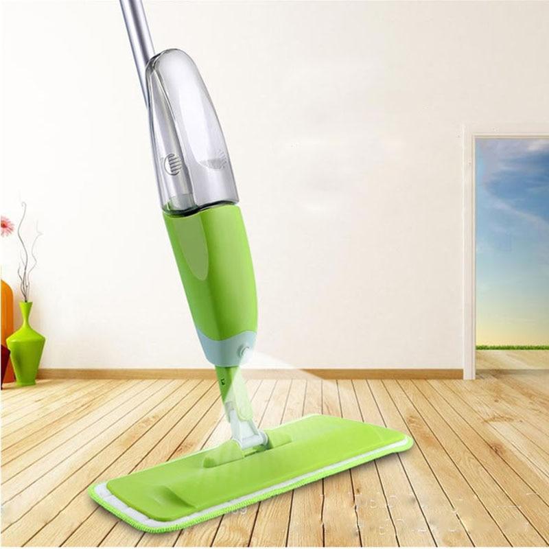 Magic Spray Mop Microfiber Floor Mop Home Kitchen Cleaning