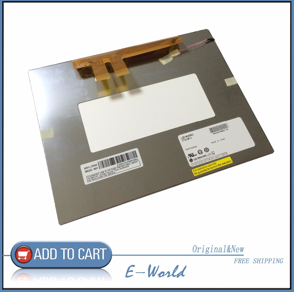 Original 10.4inch LCD screen for LB104S02-TD01 LB104S02(TD)(01) LB104S02 Resolution:800*600 free shipping free shipping original 9 inch lcd screen cable numbers kr090lb3s 1030300647 40pin