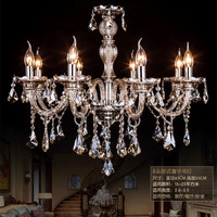 Modern LED crystal chandelier loft fixtures living room hanging lights dining room suspension lighting bedroom suspended lamp