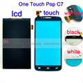 100% de garantia de toque digitador da tela para alcatel one touch pop 7040E 7041D C7 Dupla 7040A 7040 7041 Lcd Tela OT7040 exibição