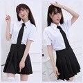 Janpanese аниме милые девушки школьная форма косплей lovelive костюм студент мультфильм , потому комплект vestidos летнее платье