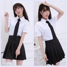 Janpanese anime cute girls uniforme escolar cosplay lovelive estudiante traje cos de dibujos animados traje set vestido de verano vestido