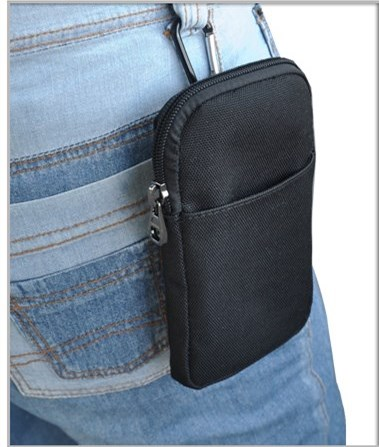 New Universal Oxford <font><b>Cell</b></font> <font><b>Phone</b></font> Bag <font><b>Belt</b></font> <font><b>Clip</b></font> Pouch Waist Purse Case Cover For LG G4 H810 VS999 F500 LS991 For Huawei For Iphone