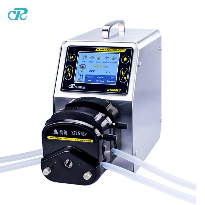 High Precision Liquid Dosing Peristaltic Pump with Touch screen цена и фото