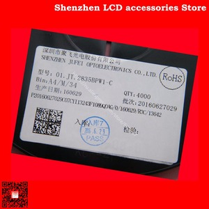 Image 4 - 300PCS/Lot FOR  Maintenance Konka Skyworth Changhong LED LCD TV backlight lights with Ju fei 2835 SMD lamp beads 3V
