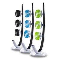 220 В 3 цвета доступны Электрический вентилятор 3 головки бытовой электрический Велоспорт этаж вентилятор с таймером кондиционирования возд...