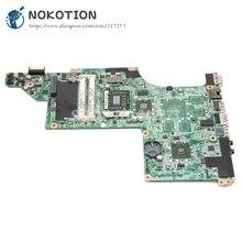 NOKOTION 595135-001 for hp Pavilion DV6-3000 DV6 laptop motherboard DA0LX8MB6D1 Socket s1 free cpu