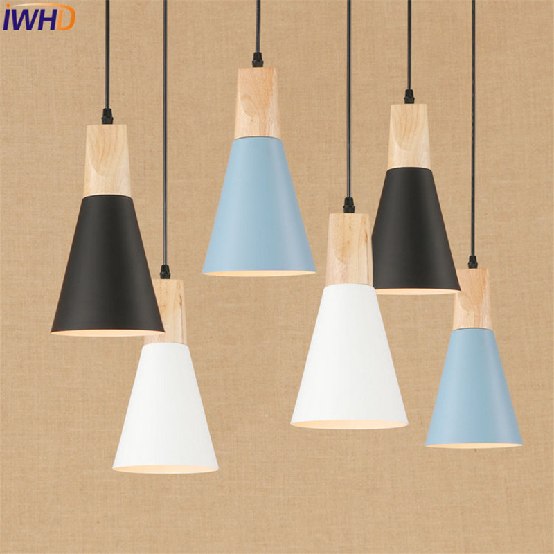Nordic Loft Style Simple Aluminum Wood Droplight Modern LED Pendant Light Fixtures Dining Room Hanging Lamp Indoor Lighting nordic loft style wood art droplight modern led pendant light fixtures for living dining room bar hanging lamp indoor lighting