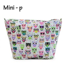 New  OBAG Colourful Insert Lining Inner Pocket Suitable for Mini O Bag Women's Should Bags Totes Handbags