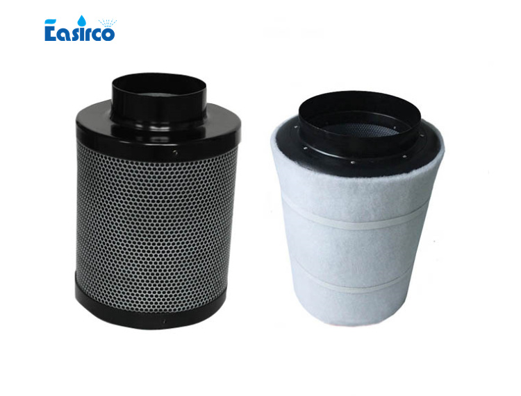 5 carbon air filter With Flanger for ventilation of grow tent