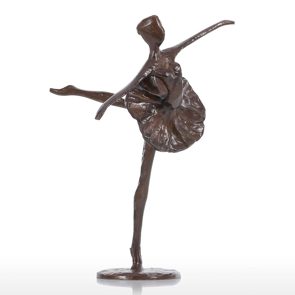 Tooarts Statuetka Balet Taniec Nowoczesny Statua Z Brązu