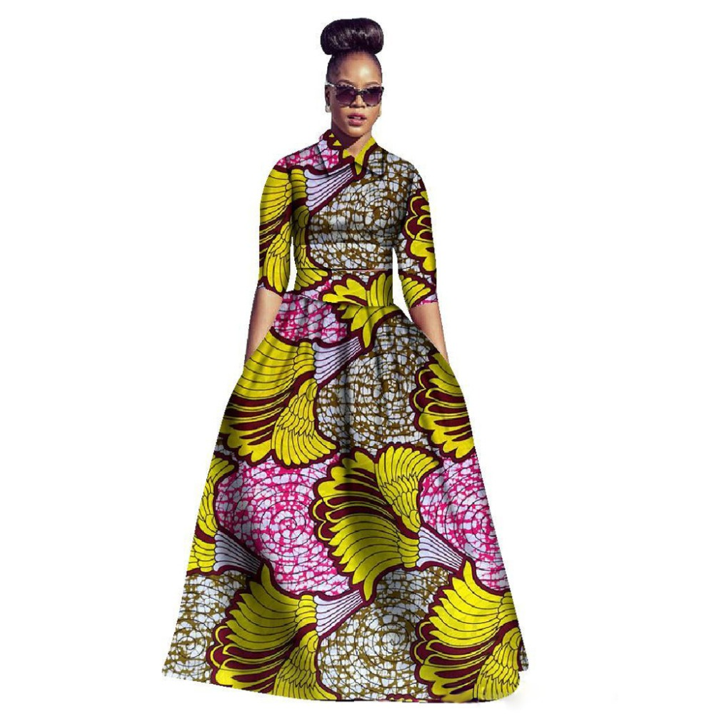 Popular African Maxi Cheap Dress
