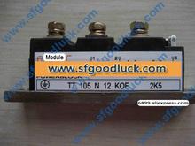 TT105N12KOF tyrystorowy moduł SCR Doubler 1200V 105A tanie tanio Fu Li