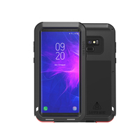 Aluminum Metal Case For Samsung Galaxy Note 9 Full Body Heavy Protection Anti knock Rugged Armor Metal Cover For Samsung Note 9