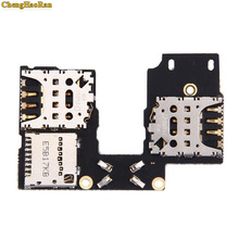 ChengHaoRan New Dual & Single SIM Card SD Memory Holder Slot Tray Reader Flex Cable Board For MOTOROLA MOTO G3 3rd GEN XT1541 XT replacement micro sd sim card connector socket slot flex cable for htc g14 silver